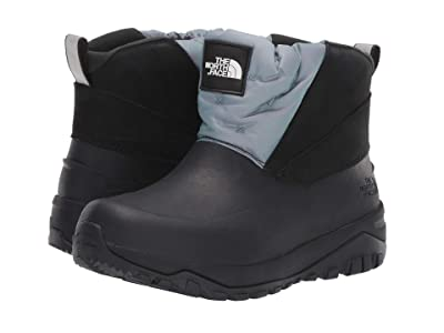 The North Face Yukiona Ankle Boot Shiney (Glacier Iridescent/TNF Black) Women
