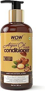 WOW Skin Science Moroccan Argan Oil Conditioner, 500 ml