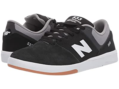 New Balance Numeric NM533 (Black/White) Men