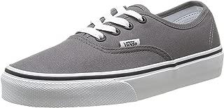 Unisex Authentic Core Skate Shoes Pewter/Black 6 D(M) US