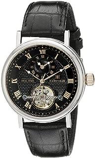 Men's ES-8047-01 Beaufort Analog Display Automatic self Wind Black Watch