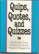 Quips Quotes & Quizzes Features From Americas Most Popular Magazine