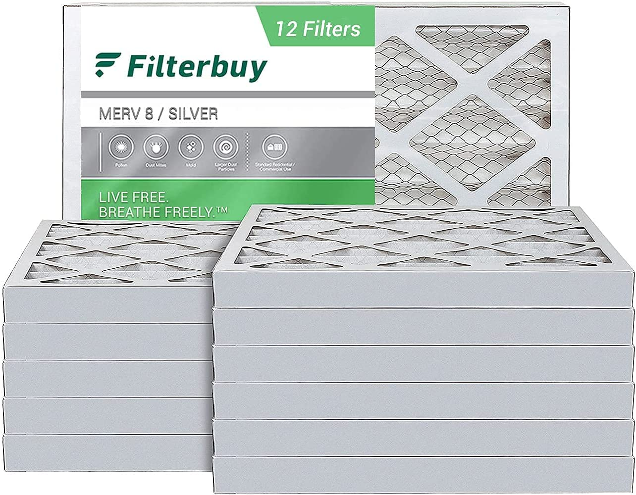 FilterBuy 18x20x2 Air Filter Shipping included MERV Same day shipping 8 HVAC Pleated Fil Furnace AC