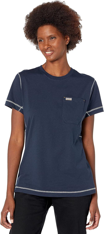 ARIAT Rebar Work Woman Camo Flag T-Shirt