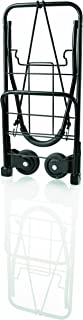 Travel Smart by Conair TS-34FFC Flat Folding Multi-Use Luggage Cart, Black