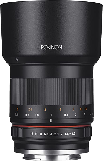 Rokinon Rk50m M 50mm F1 2 As Umc High Speed Lens For Kamera