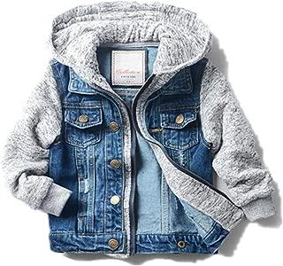 Boys' Basic Denim Jacket Trucker Jacket Stylish Fashion Trendy Coat