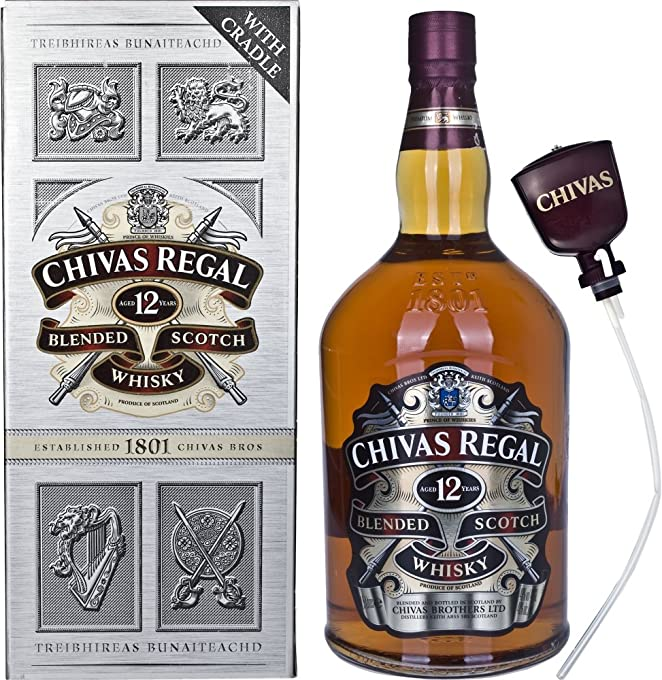 Chivas Regal 12 Year Old Blended Scotch Whisky , 4.5L