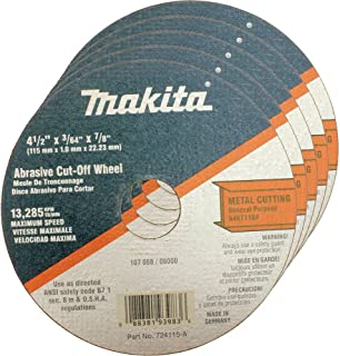 Cut-off Wheel,  25PK,  4.5inx7/8in x3/64in