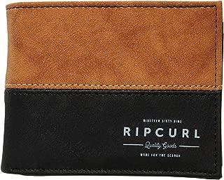 Rip Curl Men's Arch Rfid Pu All Day Wallet Pu Black
