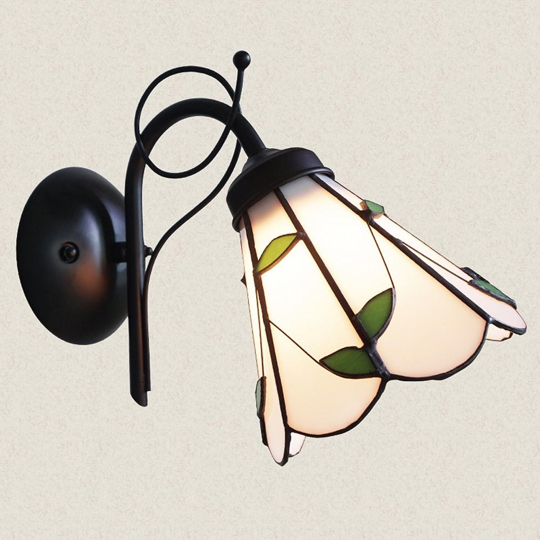 LLYU Mediterrane rustikale Wand Lampe Gang Restaurant Nachttisch Schlafzimmer Wandleuchte
