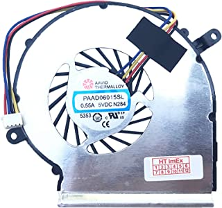 MSI - Ventilador para MSI GL62, MSI GL72, MSI PE60, MSI PE60 (MS-16J2), MSI PE60 (MS-16J5), MSI PE60-2QE, MSI PE60-6QE, MSI PE70, MSI PE70 (MS-1792), GL72 7RD (MS-1799)
