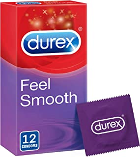 Durex Feel Smooth Condom - Pack of 12