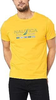 Nautica Men's SAIL Team Flags Graphic TEE