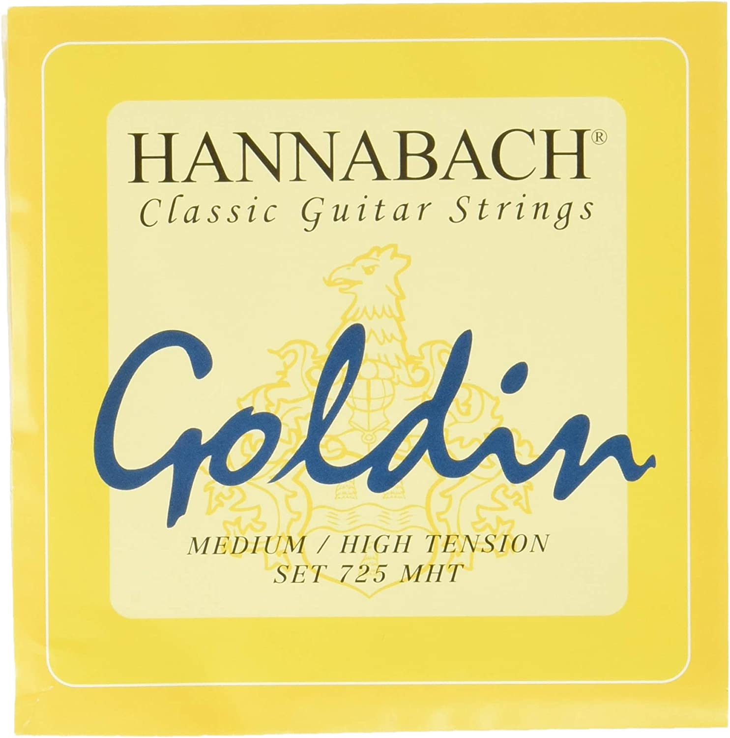 Hannabach 725 MHT GOLDIN outlet Safety and trust Set
