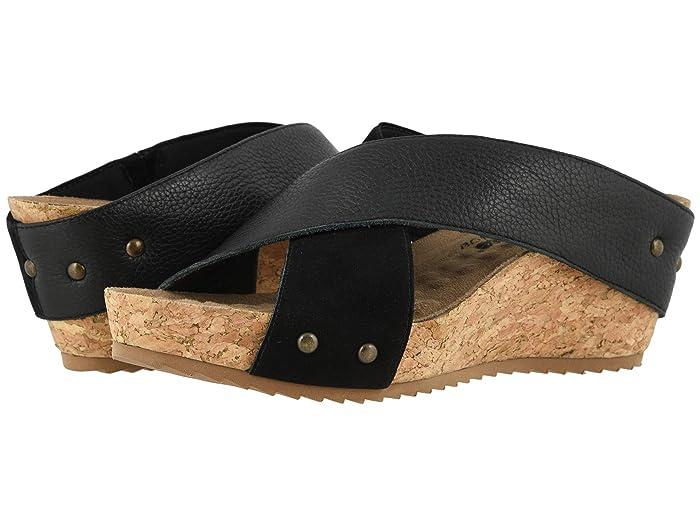 Walking Cradles  Taralynn (Black Nubuck/Soft Tumbled Leather) Womens  Shoes