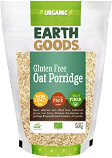 Earth Goods Organic Gluten-Free Oat Porridge, 500 gm