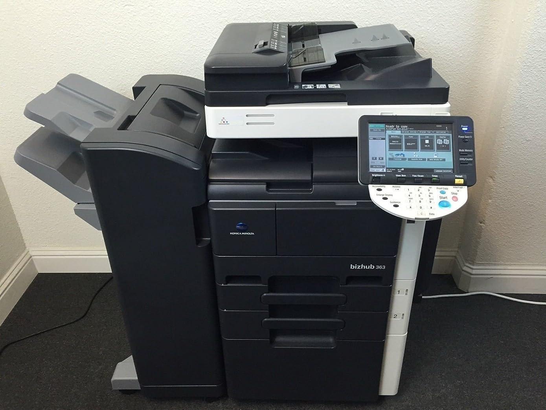 Konica Minolta Bizhub 363 Copier Printer Scanner Network USB & Staple Finisher