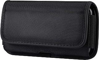 Sony Xperia 10 Plus,Xperia 1,XA Ultra,Xperia 1 II 携帯電話用 横型 スマホポーチ 頑丈なナイロンウエストバッグ Samsung Galaxy S20 Ultra 5G,Note20 Ultra ...