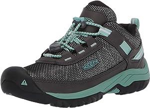 KEEN Kids' Targhee Sport Hiking Shoe, Black, 9 Little Kid