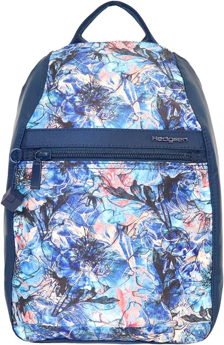購買 Hedgren Vogue Sm RFID Floral 全国どこでも送料無料 Backpack Shadow Blue