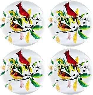 Audubon Cardinal Set of 4 Magnets