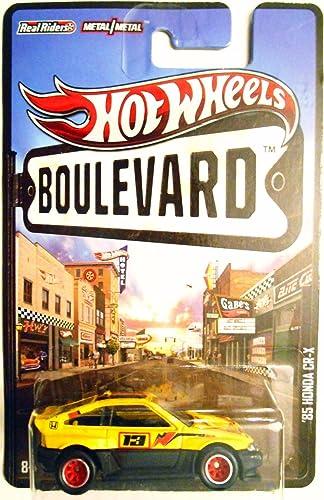 Hot Wheels 2012 Boulevard Series '85 Honda Cr-x 1 64 Scale Die-cast Vehicle by Hot Wheels