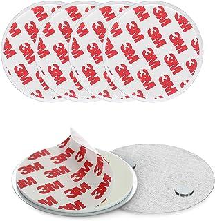 Navaris zelfklevende montageset voor rookmelders - 5x magneetbevestiging voor brandmelders - Bevestig je rook- en koolmono...
