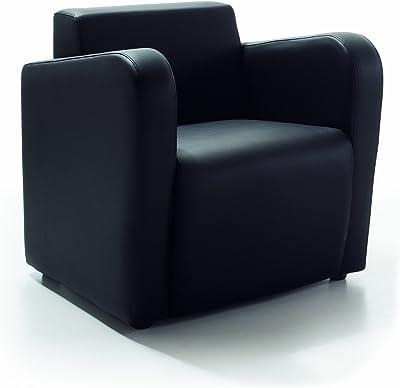vidaXL Sillón Forma Cubo Cuadrado Piel Sintética Diseño ...