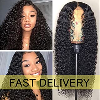 Fast Delivery FASHION PLUS Full Lace Wigs 150% Density Short Curly Human Hair Wigs Pre Plucked Hairline with Baby Hair Deep Curly Full Lace Human Wigs Natural Color
