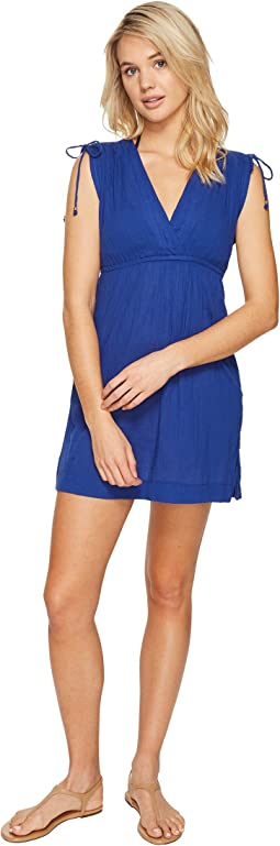 LAUREN Ralph Lauren Crushed Farrah Dress Cover-Up