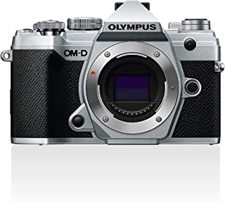 Olympus V207090SE000 Olympus OM-D E-M5 Mark III Kamera, Silver