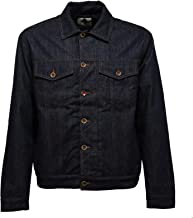 GARRY'S EARTH 9084AB Giubbotto uomo Imbottito Jacket Denim/Wool Men
