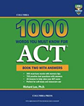 Columbia 1000 Words You Must Know for ACT: Book Two with Answers