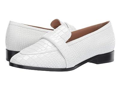 Schutz Romina (White Croco New) Women