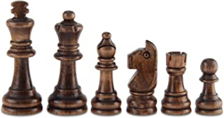 oak chess pieces