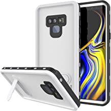 PunkCase Galaxy Note 9 Waterproof Case, [KickStud Series] [Slim Fit] [IP68 Certified] [Shockproof] [Snowproof] Armor Cover W/Built-in Kickstand + Screen Protector for Samsung Galaxy Note 9