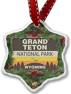 Larmai National Park Grand Teton Xmas Ornament 2018 Farmhouse Collectible Keepsake