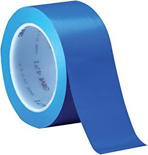 3M Vinyl Tape 471 Blue, 4 in x 36 yd, Conveniently Packaged (Pack of 1)