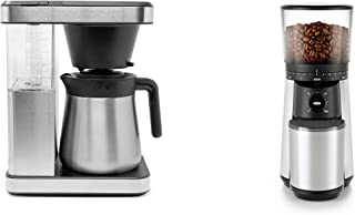 OXO Brew 8-Cup Coffee Maker + OXO Brew Coffee Grinder Bundle