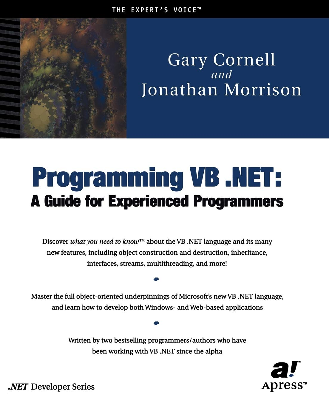 Programming VB .NET: A Guide For Experienced Programmers