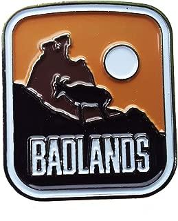 Badlands National Park Enamel Pin