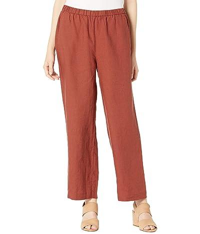 Eileen Fisher Organic Linen Ankle Length Pants