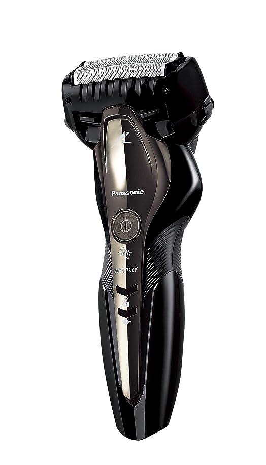 ドライ自転車証明するパナソニック ラムダッシュ メンズシェーバー 3枚刃 お風呂剃り可 黒 ES-ST2P-K