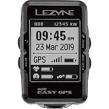 LEZYNE Macro Easy - Contador GPS para Bicicleta o montaña, Unisex, Color Negro, Talla única: Amazon.es: Ropa y accesorios
