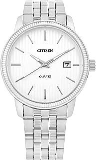 ساعة يد انالوج بحركة كوارتز للرجال مع عرض للتاريخ من سيتيزن - DZ0050-57A