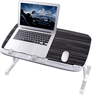 NEARPOW Laptop Desk for Bed, Larger Size Bed Table Laptop Bed Tray, Height and Angle Adjustable Computer Standing Desk Lap...