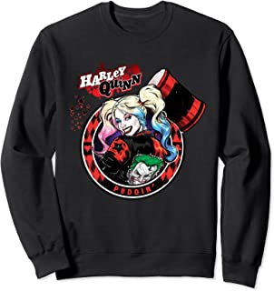 Batman Harley Quinn Joker Patch Sweatshirt