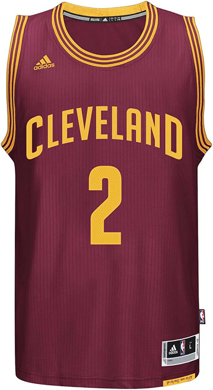 adidas Kyrie Irving Cleveland Cavaliers NBA Swingman Jersey – Red
