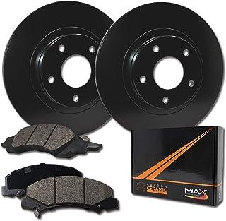 Max Brakes Front Elite Brake Kit [ E-Coated OE Rotors + Ceramic Pads ] KT001401 Fits: Acura 1991-1995 Legend 1996-1998 RL & TL 1997-2001 Integra Type R | Honda 1997-2001 CRV & Prelude